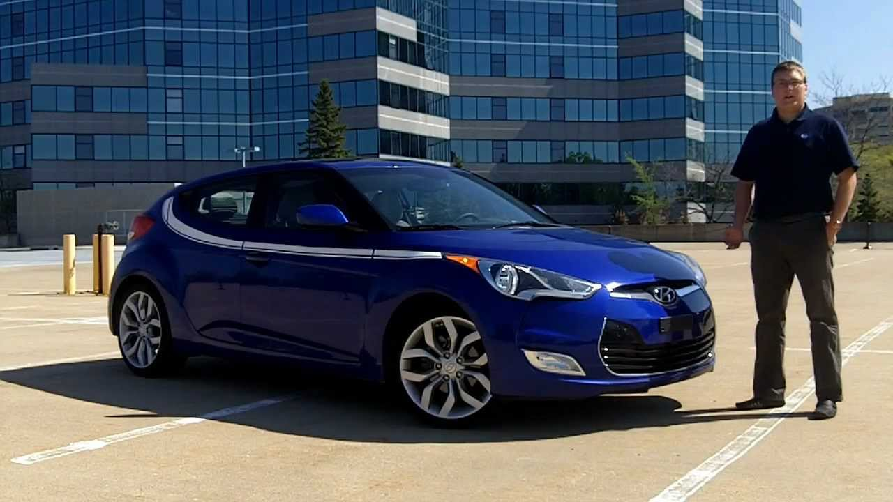 IHS Auto Reviews: 2012 Hyundai Veloster With Blue Link ...