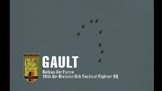 Ace Combat Zero: The Blekan War  Mission 16 The Demon of the Round Table Gault