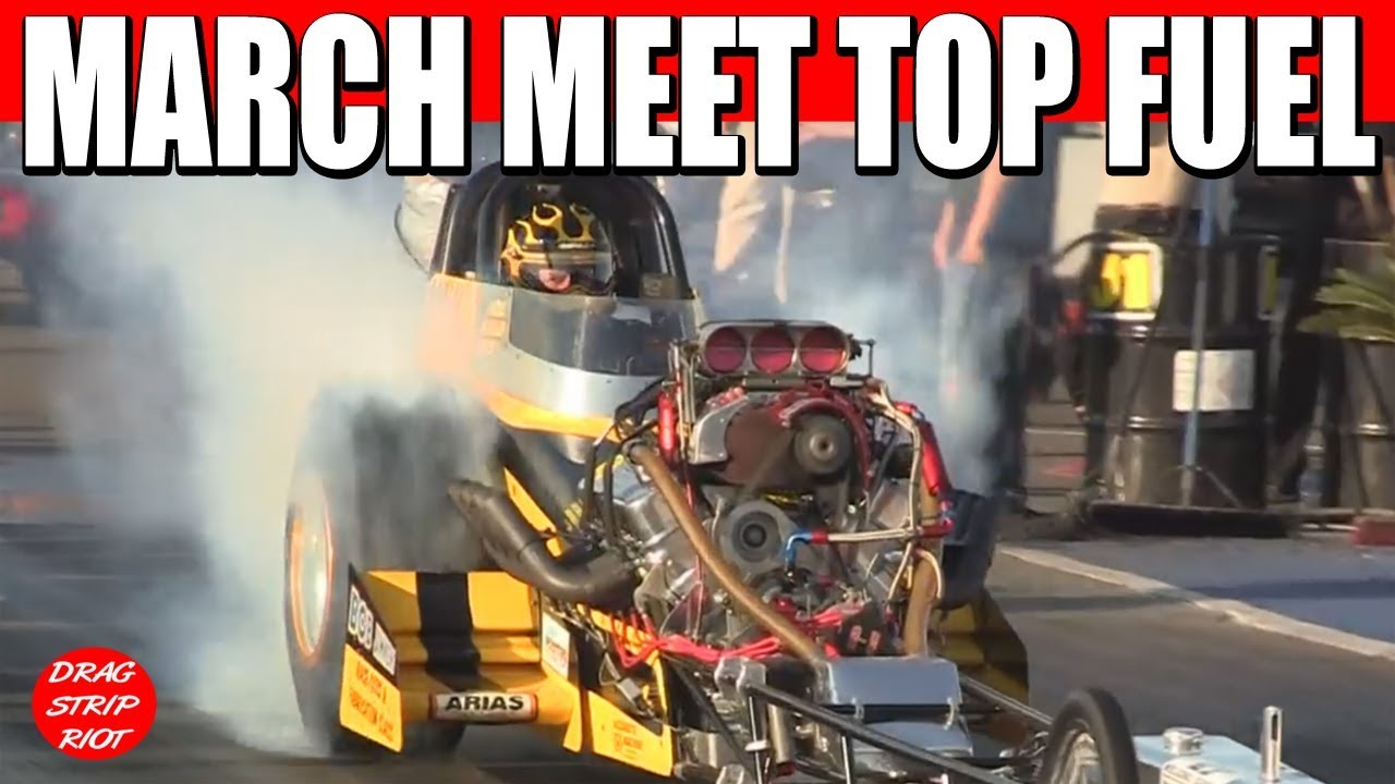 2012 Bakersfield March Meet Nitro Top Fuel First Rd White