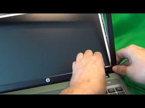 HP Probook 4540S Notebook Screen Replacement Procedure