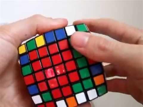 Como resolver o cubo mágico 7x7x7 - Parte 2: 2 últimos centros
