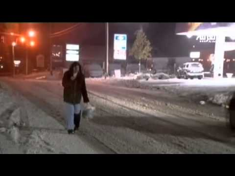 image vidéo عاصفة جديدة تهيمن على المناطق المتضررة من اعصار ساندي