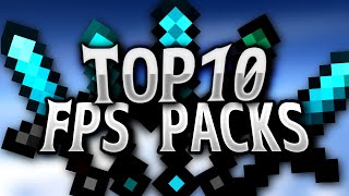 TOP 10 FPS Boost 16x Texture Packs 2017