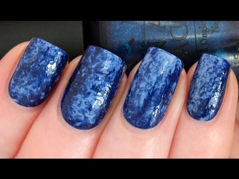 How To: Saran Nail Wrap Manicure