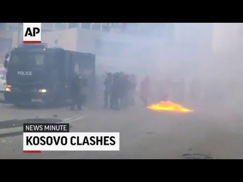 Kosovo Protests Turn Violent