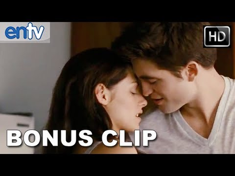 Twilight Breaking Dawn Part 1: Edward And Bella Post Sex Scene - Bonus Clip [hd] video