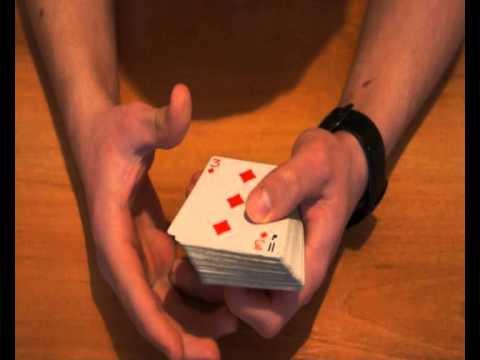 Видео как научиться карточным фокусам