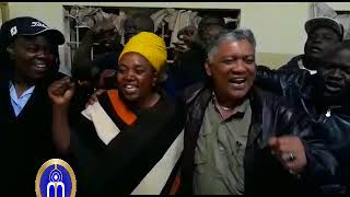Maria Langa (Chilanga new MP) celebrates her Victory (by Icof Media)