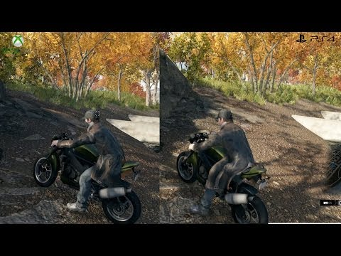 Watch Dogs: PS4 vs XBOX One