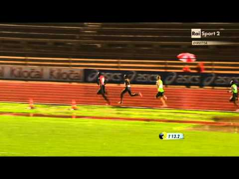 800 Metres Men Notturna di Milano 2011 Rudisha's first defeat after 34 straight wins