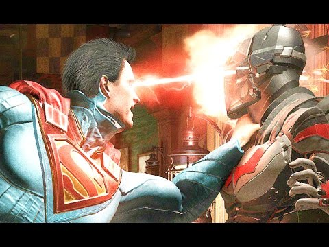 INJUSTICE 2 Gameplay Batman Vs. Gorilla Grodd & Superman Vs. Atrocitus (EGX 2016)