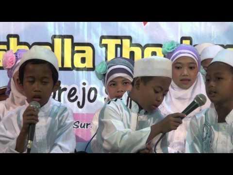 Sholawatan Anak Rohatil - TPA Thoriqul Jannah