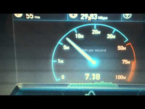 Huawei E398 LTE Speedtest