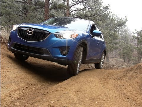 2013 Mazda CX-5 SkyActiv Off-Road Review & Drive