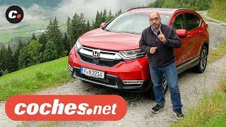 Honda CR-V 2019 SUV   Primera Prueba / Test / Review en español   coches.net