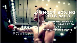 『SHOOT BOXING 2018 act.3』 Trailer