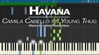 Download Lagu Camila Cabello - Havana (Piano Cover) ft Young Thug by LittleTranscriber Gratis STAFABAND