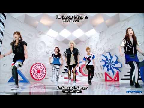 f(x) - Danger MV Eng Sub & Romanization Lyrics