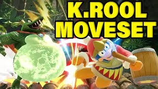 King K. Rool Moveset Breakdown! Super Smash Bros Ultimate Analysis!