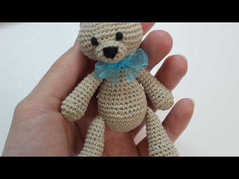 How To Make A Cute Small Crocheted Teddy Bear - DIY Crafts Tutorial - Guidecentral