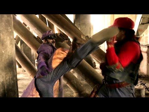 Martial Arts Beatdown: Mario Vs WaLuigi (Mario Warfare)