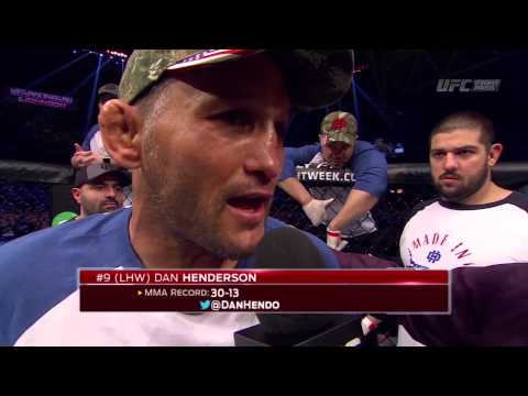 Fight Night Stockholm: Gegard Mousasi and Dan Henderson Octagon Interv...