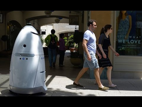 Robot Mall Cops Hitting The Streets