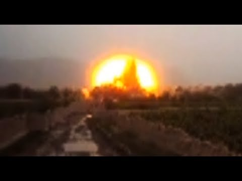 13,000 Pound Explosion in Afghanistan