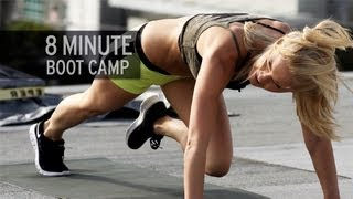 8-Minute Boot Camp Workout