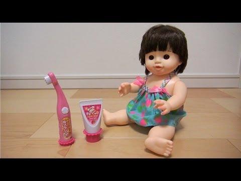 ぽぽちゃん ハミガキ / Popo-chan Tooth Brush Toy