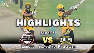 Peshawar Zalmi Inning Full Highlights | Lahore vs Peshawar | Match 32 | HBL PSL 2020 | MB2T