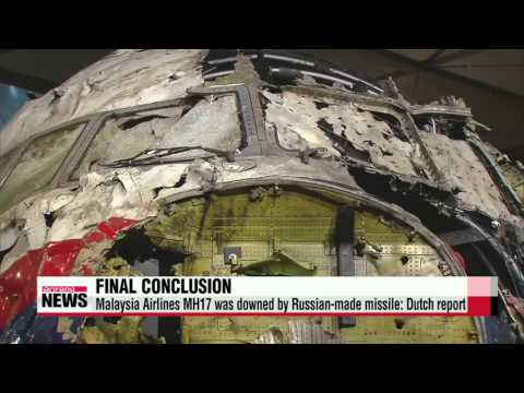 Flight MH17 shot down by Russian-made missile: Dutch report   ″말레이항공 MH17기