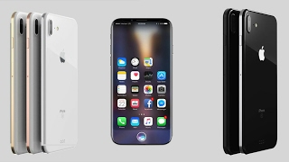 "Best & New Apple iPhone 8 2017 | 3GB RAM 5.8"" Screen Leaked iPhone 7s with ""Two Packs Batteries""!!!"