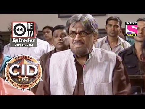 Weekly Reliv | CID | 16th June 2018 to 22nd June 2018| Episode 701 to 704 thumbnail