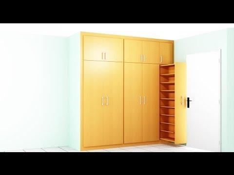 Como hacer un armario para la habitacion youtube - Armario dormitorio blanco ...