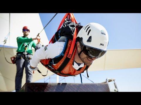 Ras Al Khaimah debuts longest zipline in the world