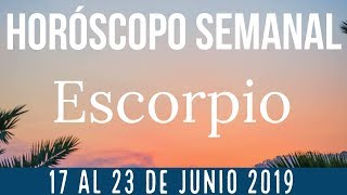 Scorpio Weekly Horoscope June 17-23, 2019 + Number and day of luck