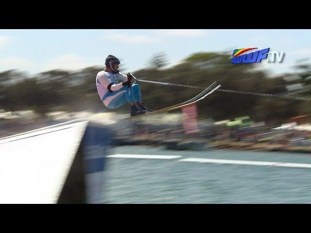 IWWF Ski Jump finals - Western Australia - Action sports games 2013