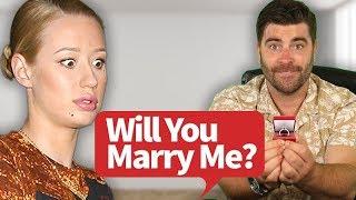IGGY AZALEA WILL YOU MARRY ME? Wedding Proposal.... ( Not clickbait )