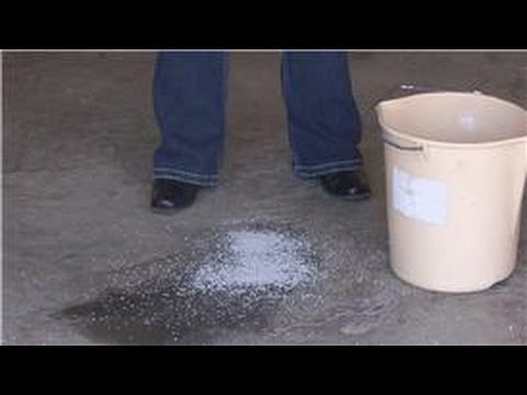 House cleaning stain removal how to remove oil for Remove oil from concrete