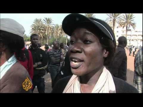 Protests in Senegal turn violent