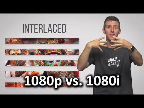 Interlaced vs. Progressive Scan - 1080i vs. 1080p