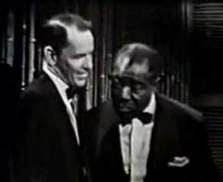 Louis Amstrong & Frank Sinatra Video