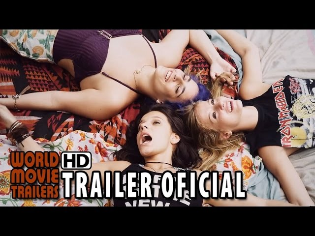 #garotas - O Filme Trailer oficial (2015) HD