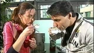 Ulrike Frank & Wolfgang Bahro testen Espressomaschinen