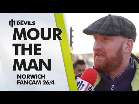 Mourinho The Man! | Manchester United 4-0 Norwich City | FANCAM