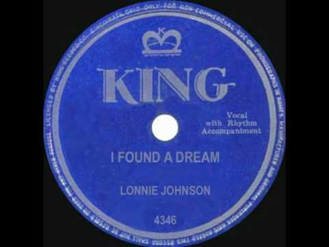 LONNIE JOHNSON - I Found a Dream (1950)