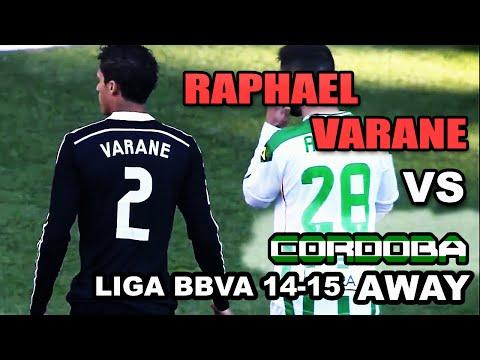 Raphael Varane vs Cordoba | Individual Highlights | 24-01-2015 [HD]