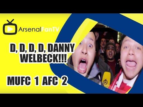 D, D, D, D, DANNY WELBECK!!! | Man Utd 1 Arsenal 2