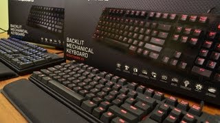 Max Keyboard Nighthawk X8 & X9 Backlit Mechanical Keyboard Unboxing + Written Review